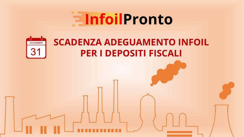 Scadenza adeguamento infoil per i depositi fiscali